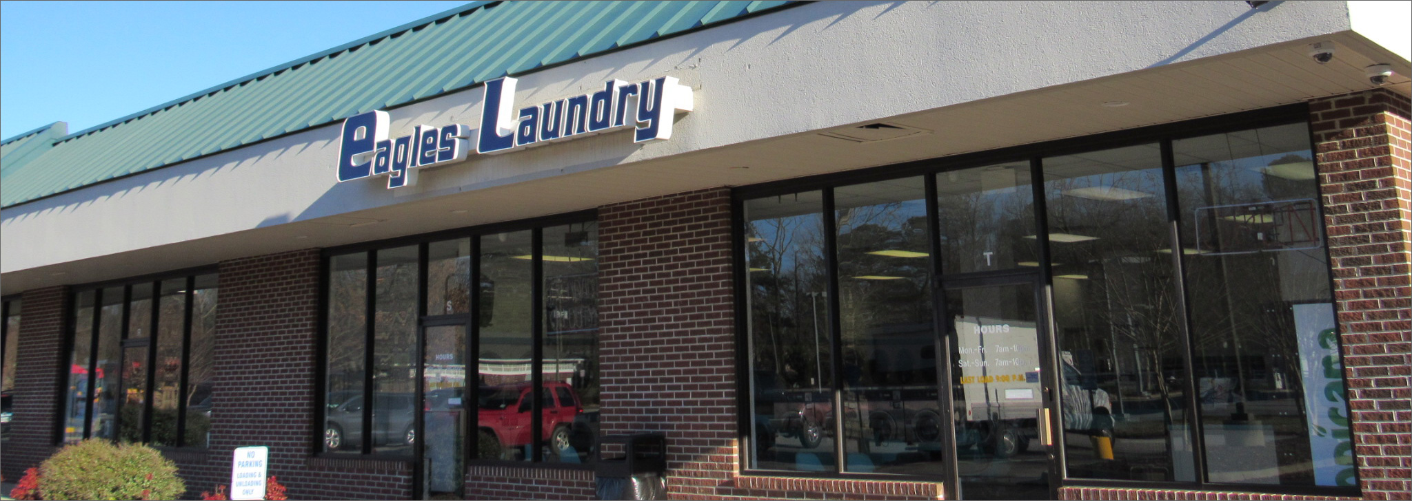 Eagles Laundry Locations - Hampton & Yorktown VA